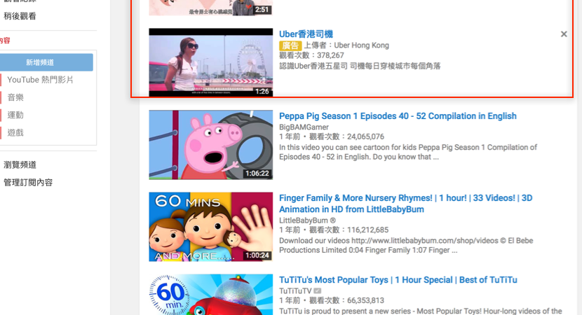 Youtube ad linkage ltd in display ad ccuart Images